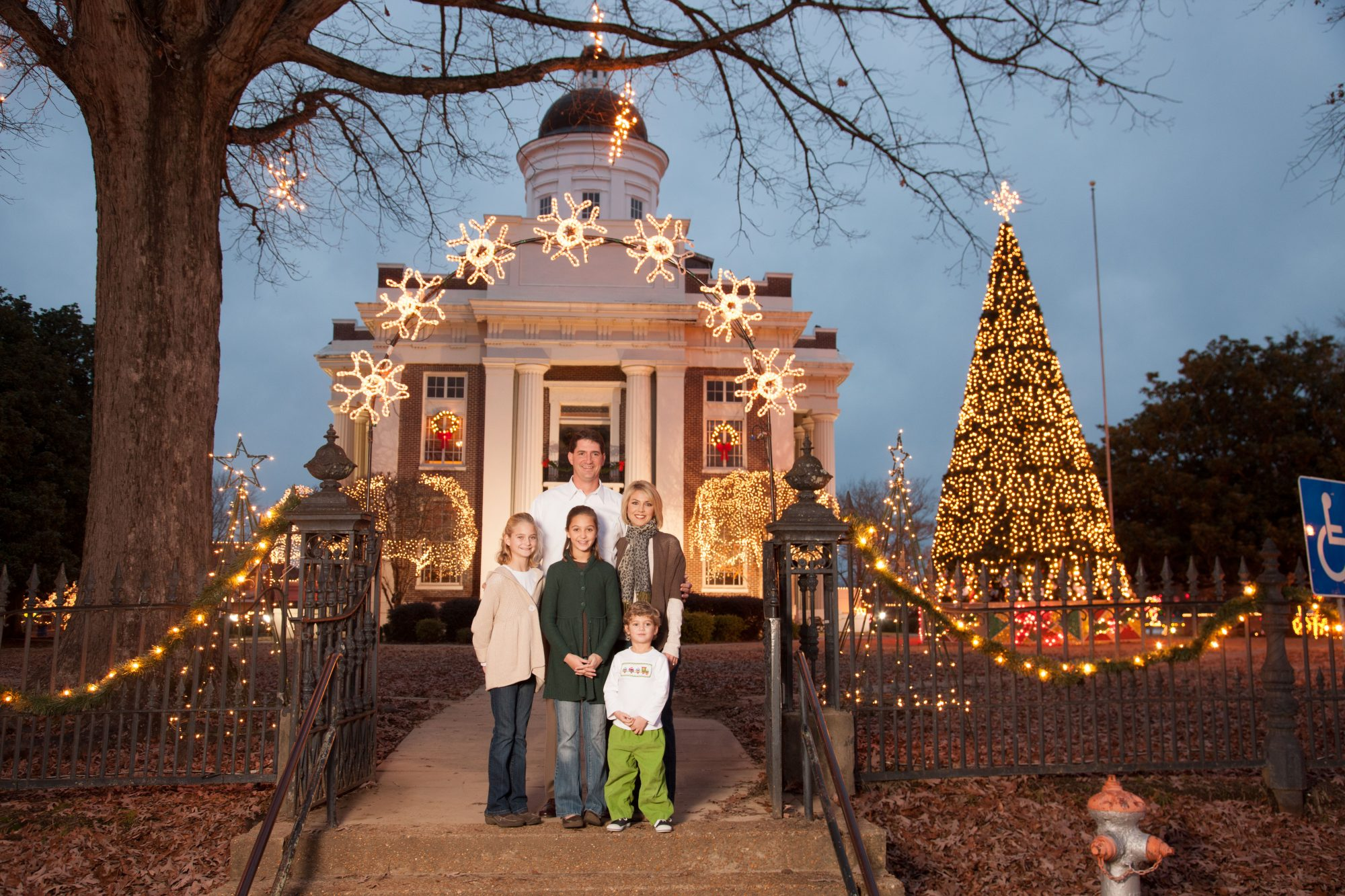 Canton, MS at Christmas