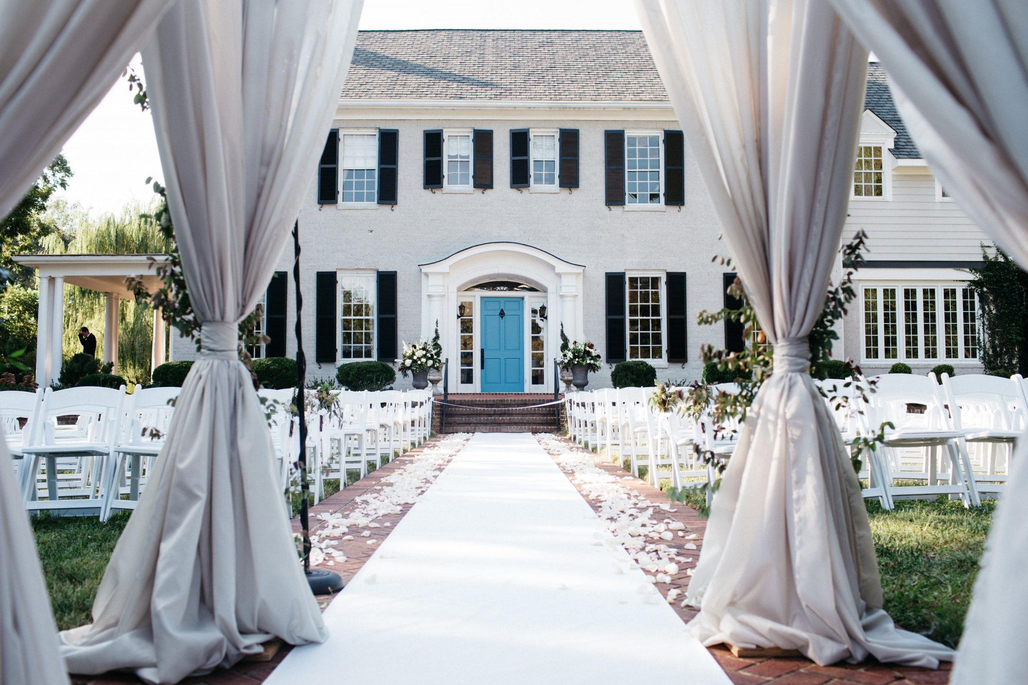 Front Lawn Wedding Ceremony