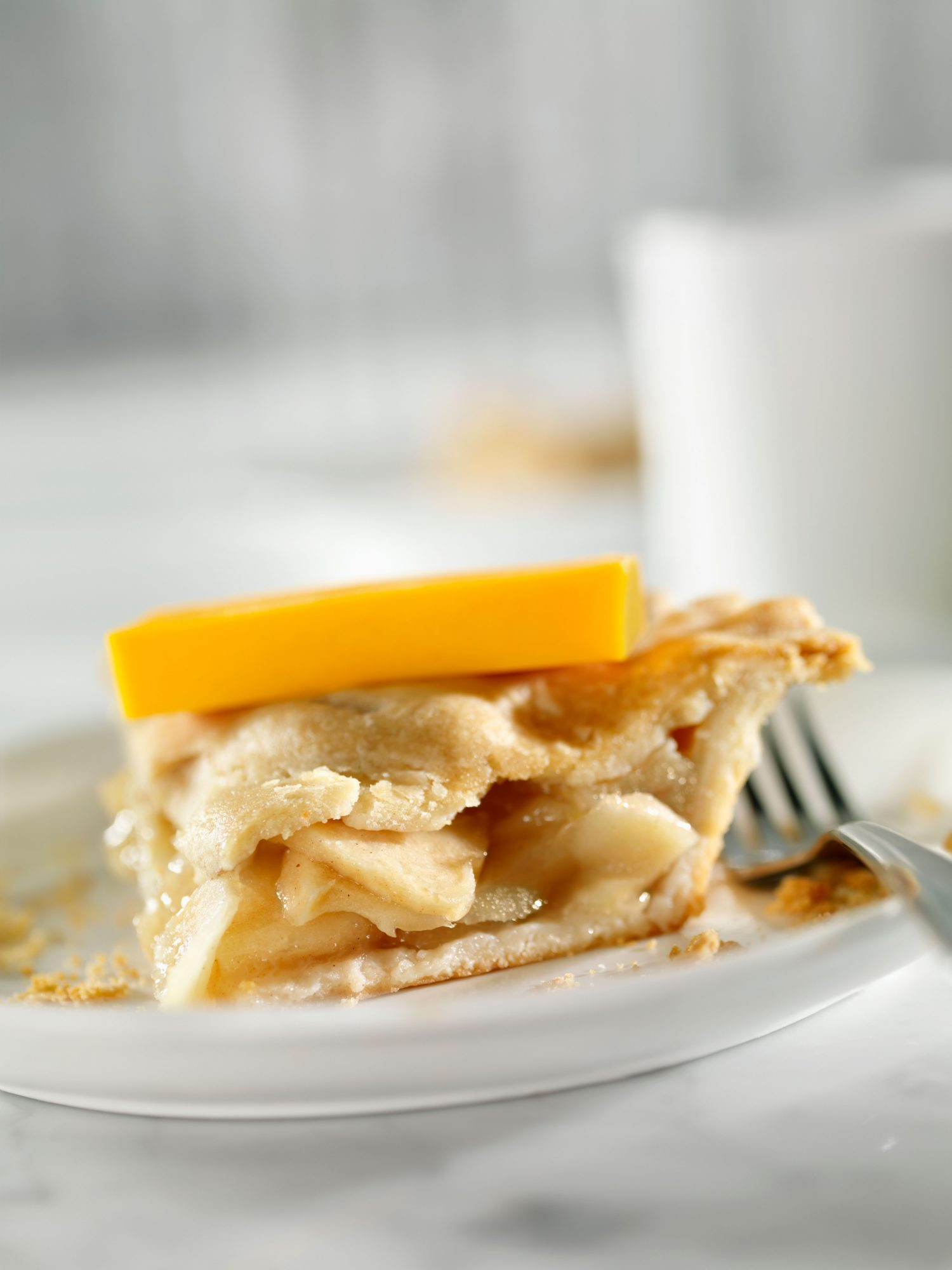 apple pie with cheddar