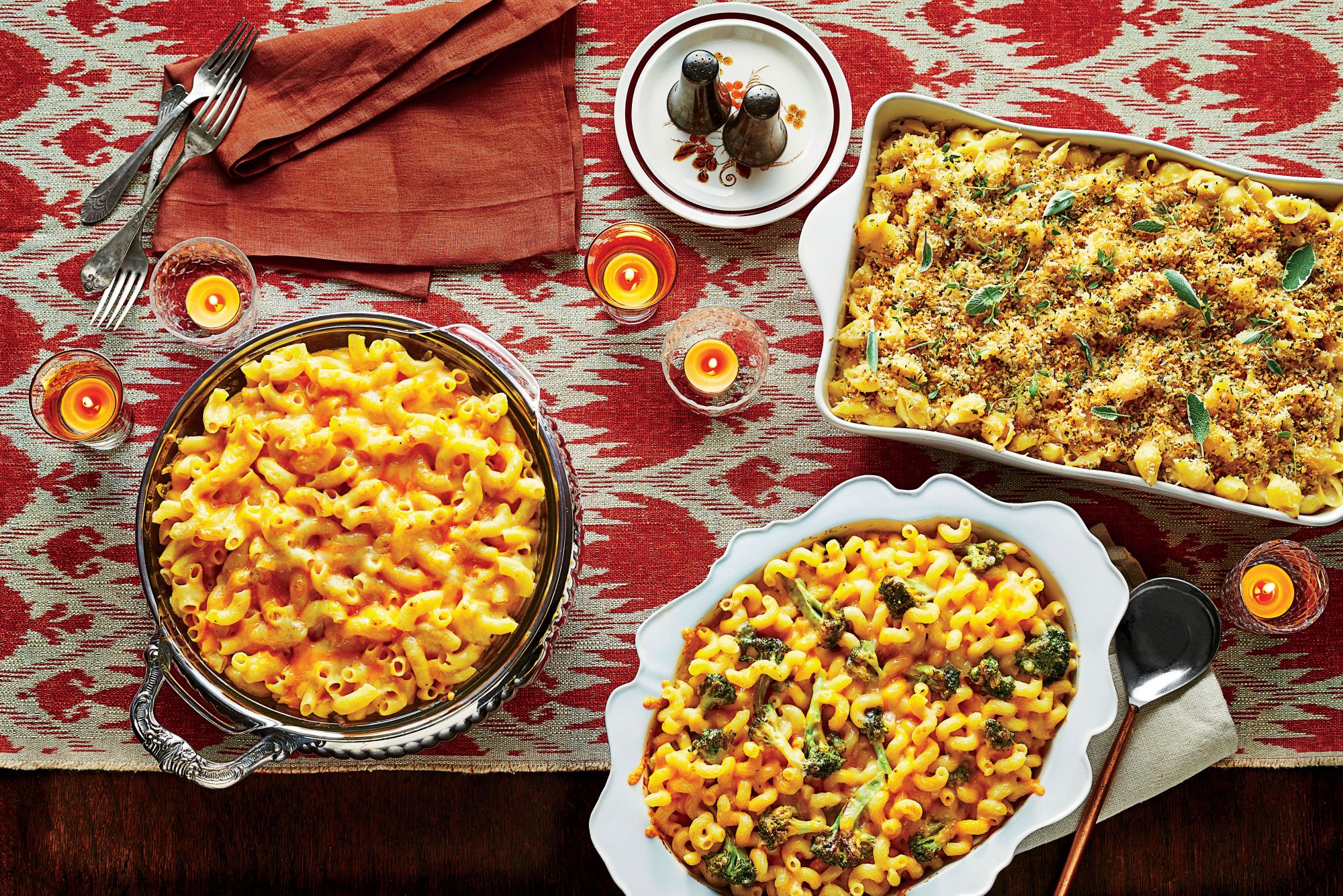 Roasted Broccoli Macaroni and Cheese