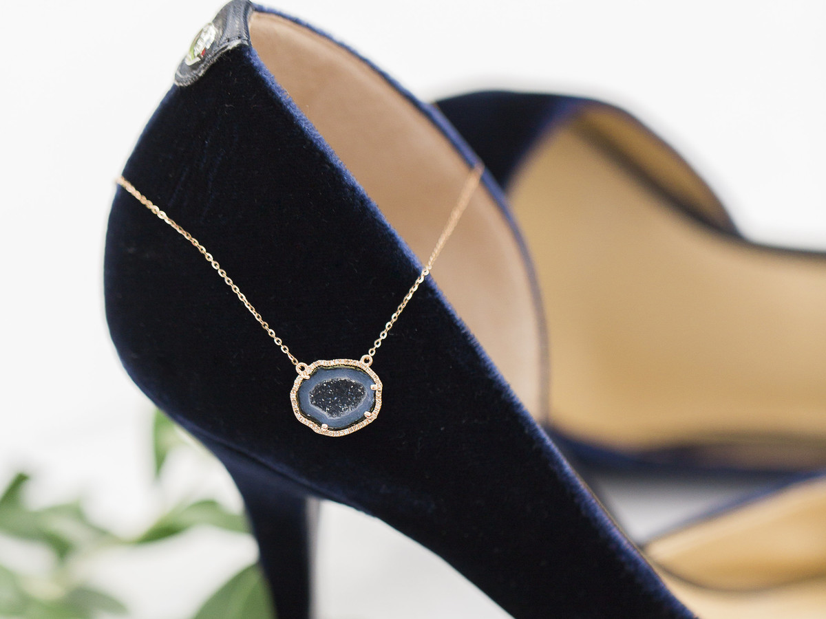 Showstopping Deep Blue Accessories