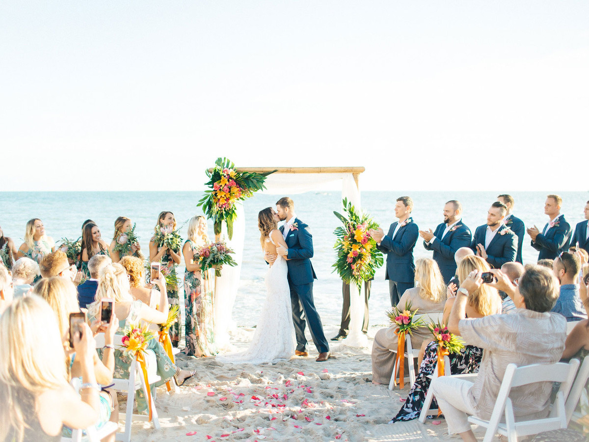Moogan Wedding Ceremony on Beach