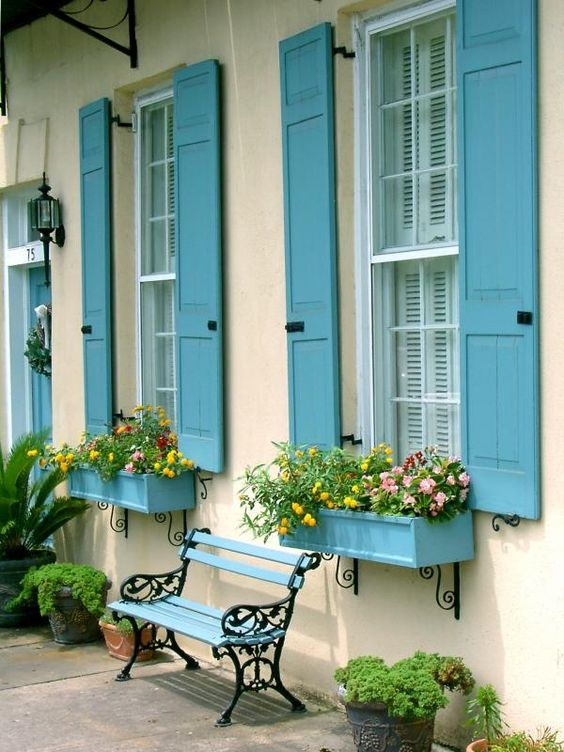 Add a Painted Window Box