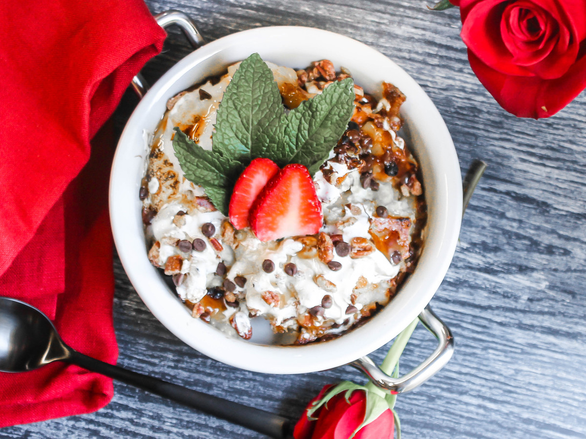 Kentucky Derby Pie Bread Pudding