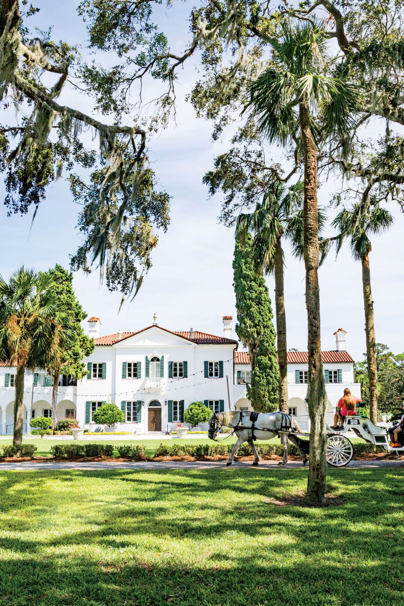 Crane Cottage at the Jekyll Island Club Resort was once a private getaway.