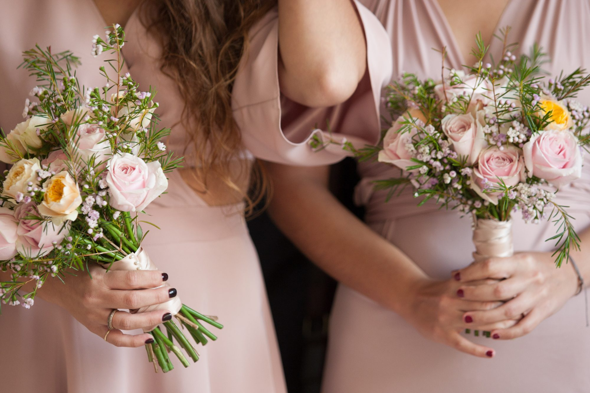 This Is the Reason Bridesmaids Wear the Same Color at Weddings