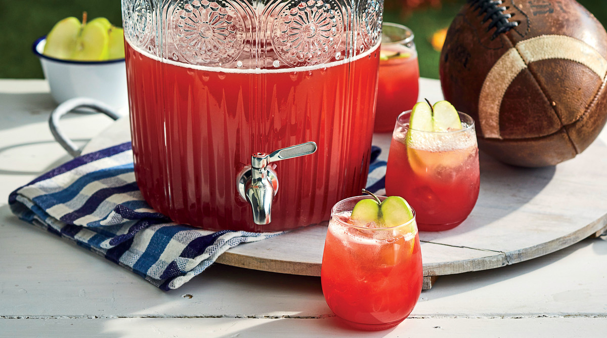 Whiskey-Apple Cider Punch