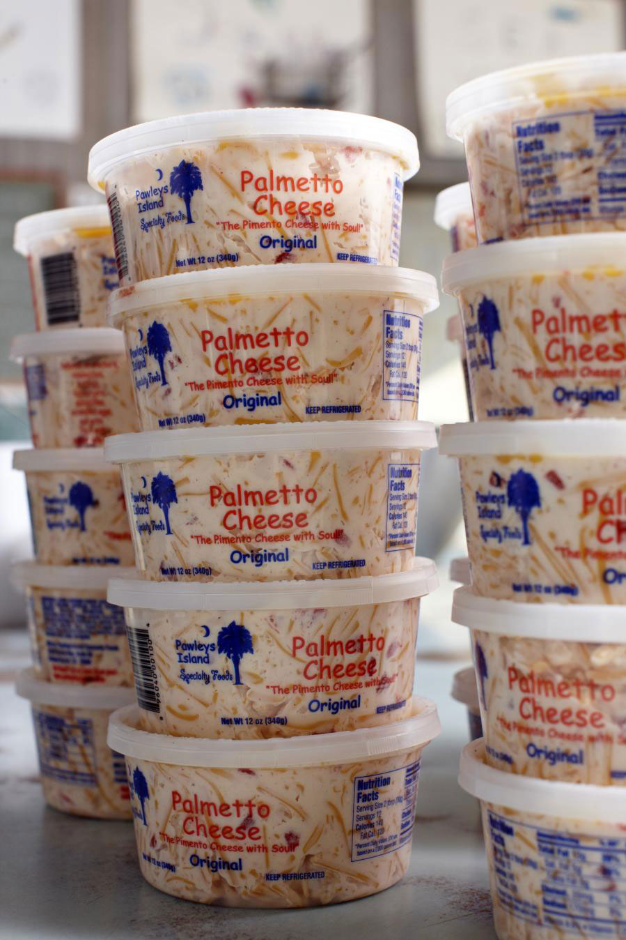 Palmetto Cheese Containers