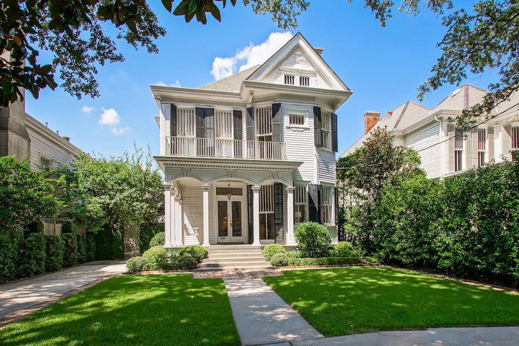 New Orleans Uptown Victorian House for Sale