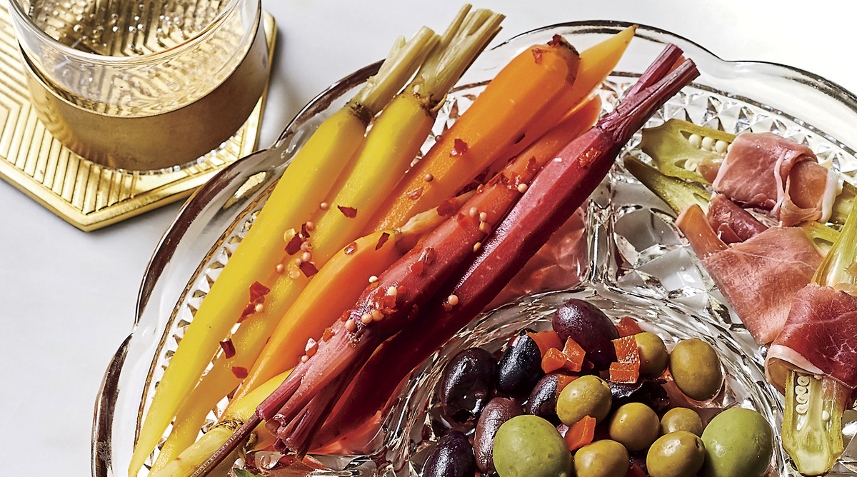 Spicy Pickled Carrots