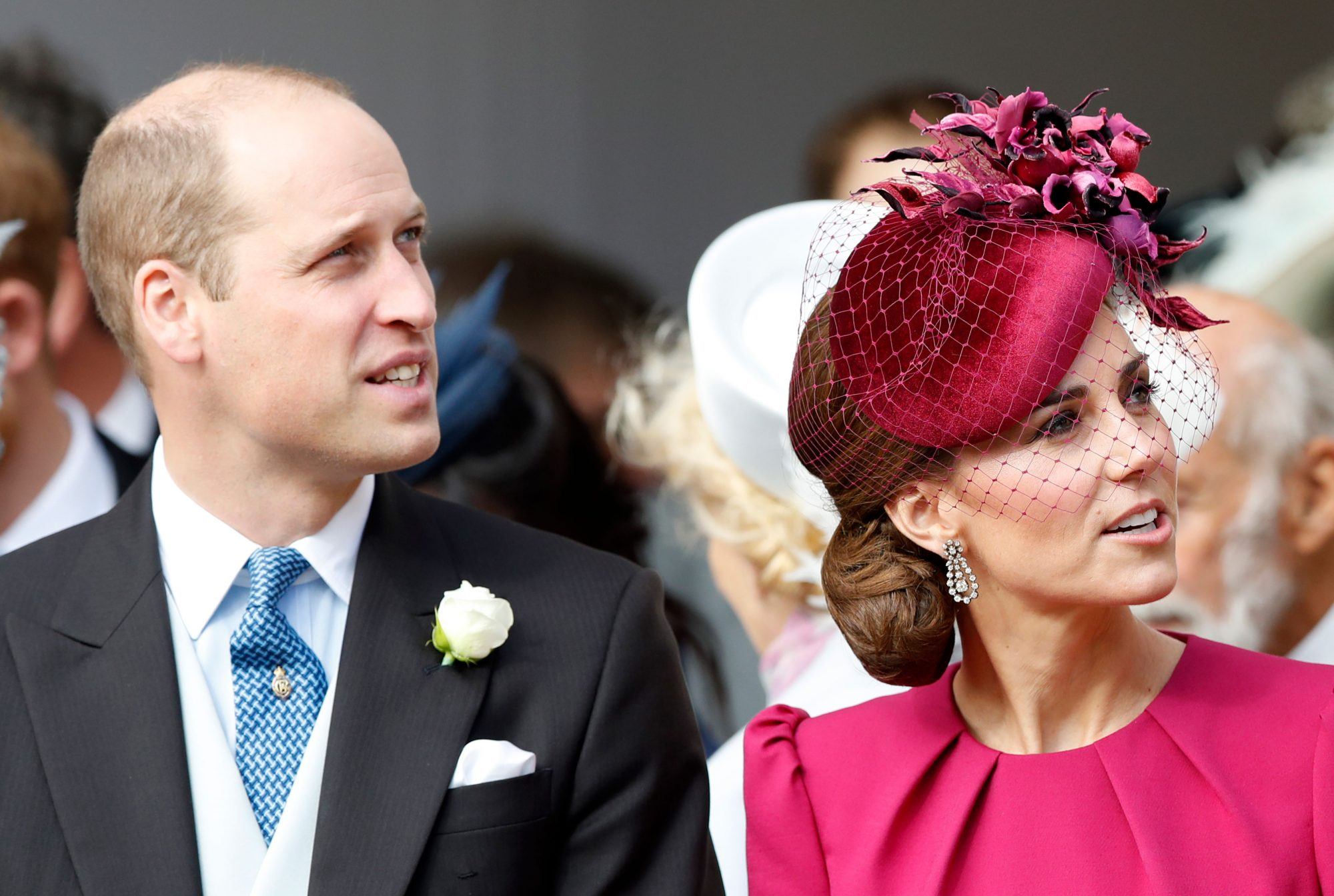 Kate Middleton Fascinator Princess Eugenie Wedding