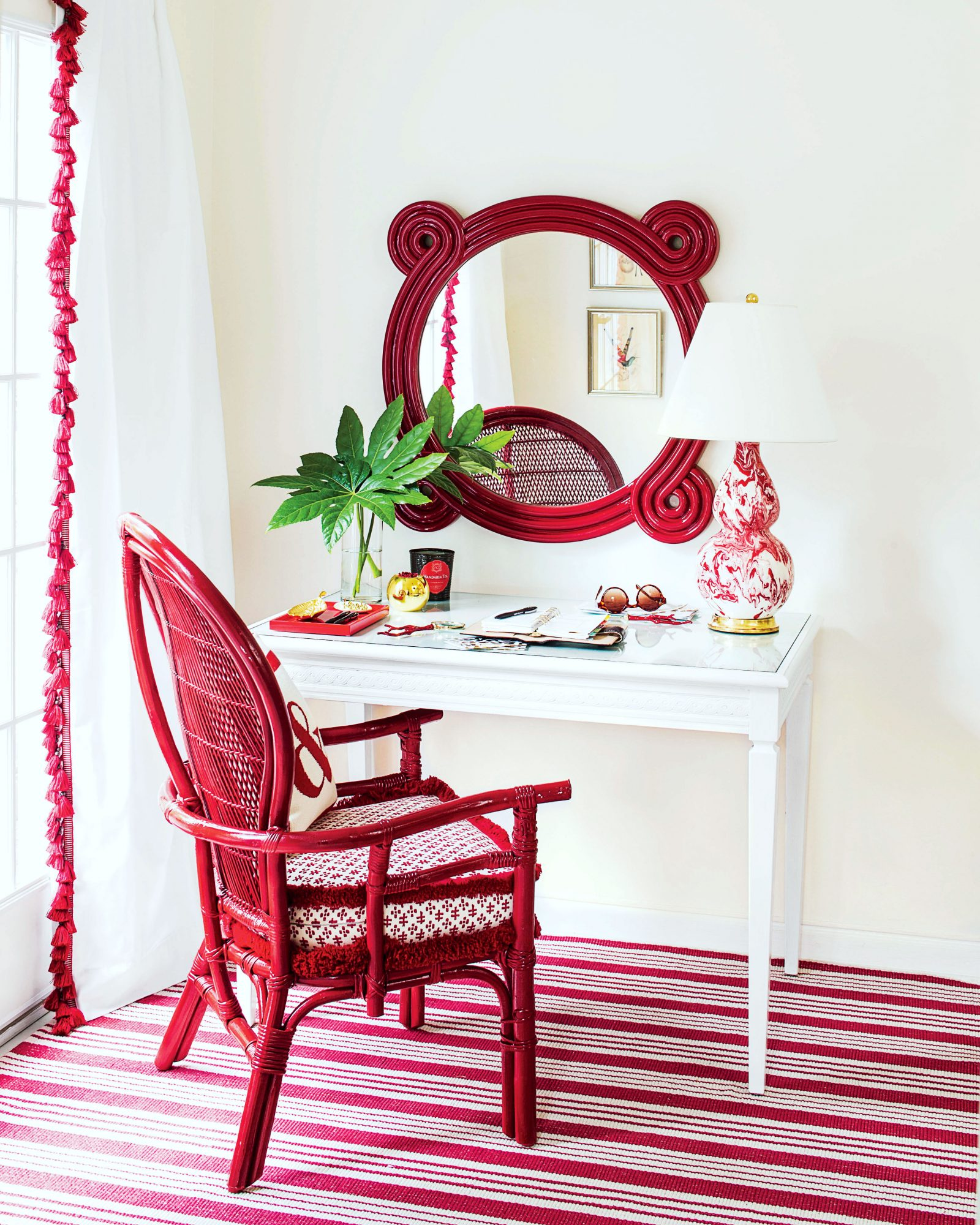 Elly Poston Red Room Desk