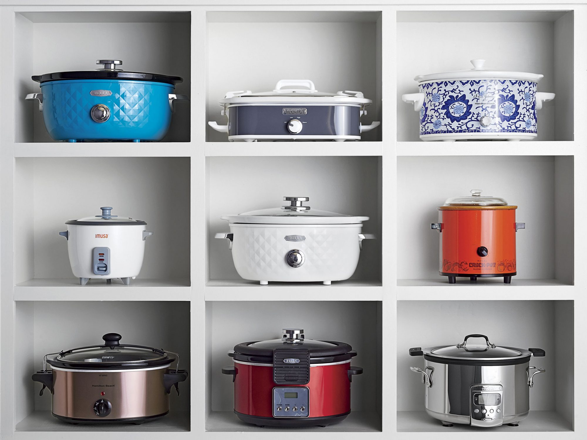 Wall of Slow Cookers