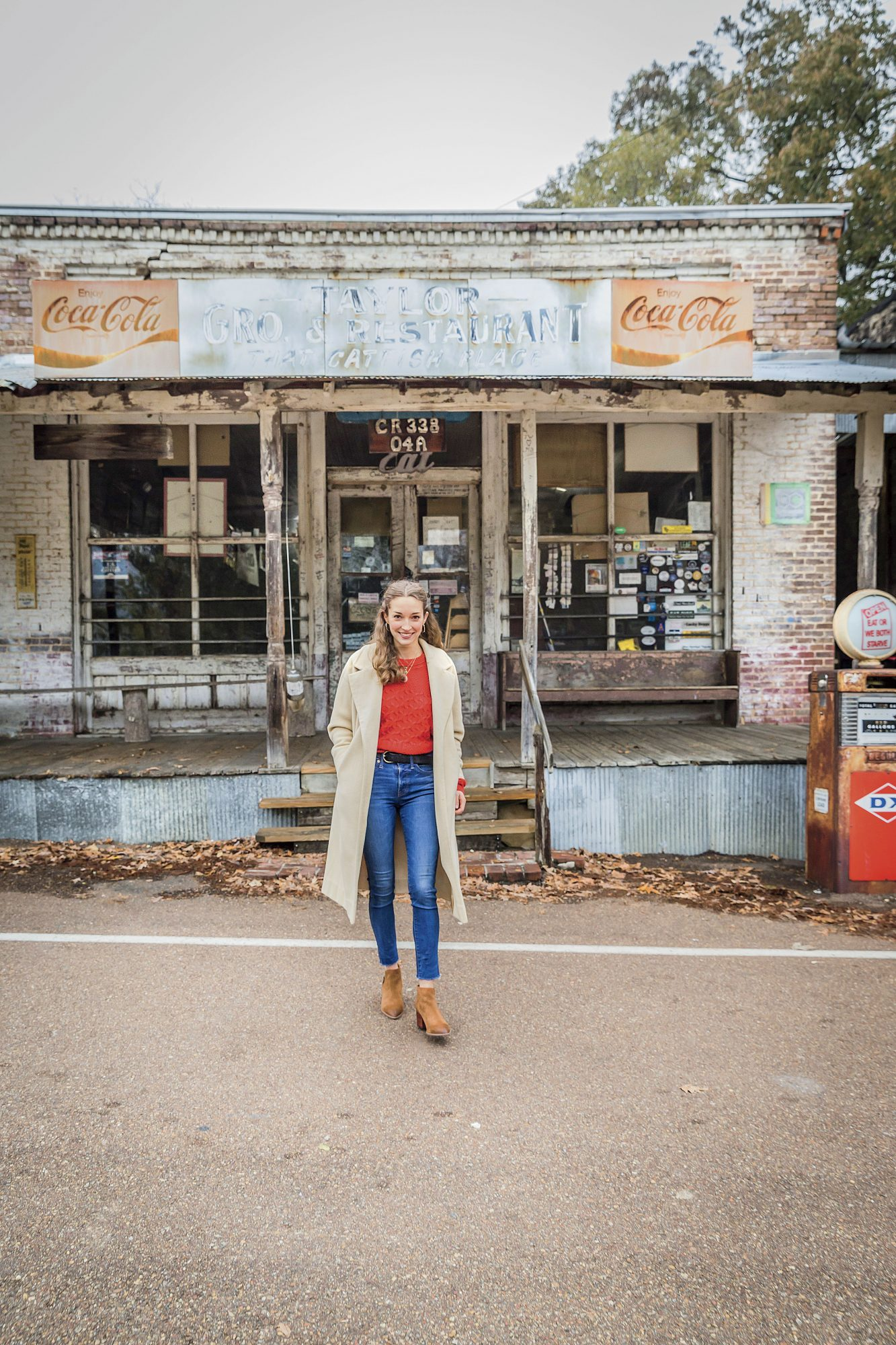 Nicole Rottler Harlow at Taylor Grocery in Mississippi