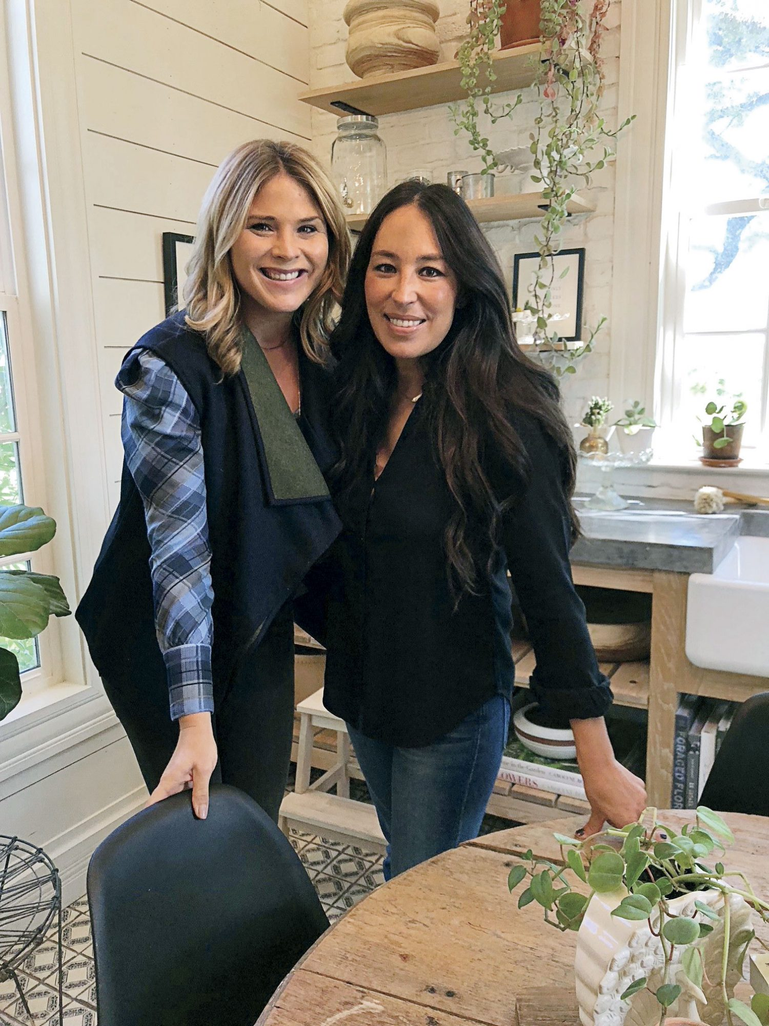 Joanna Gaines and Jenna Bush Hager