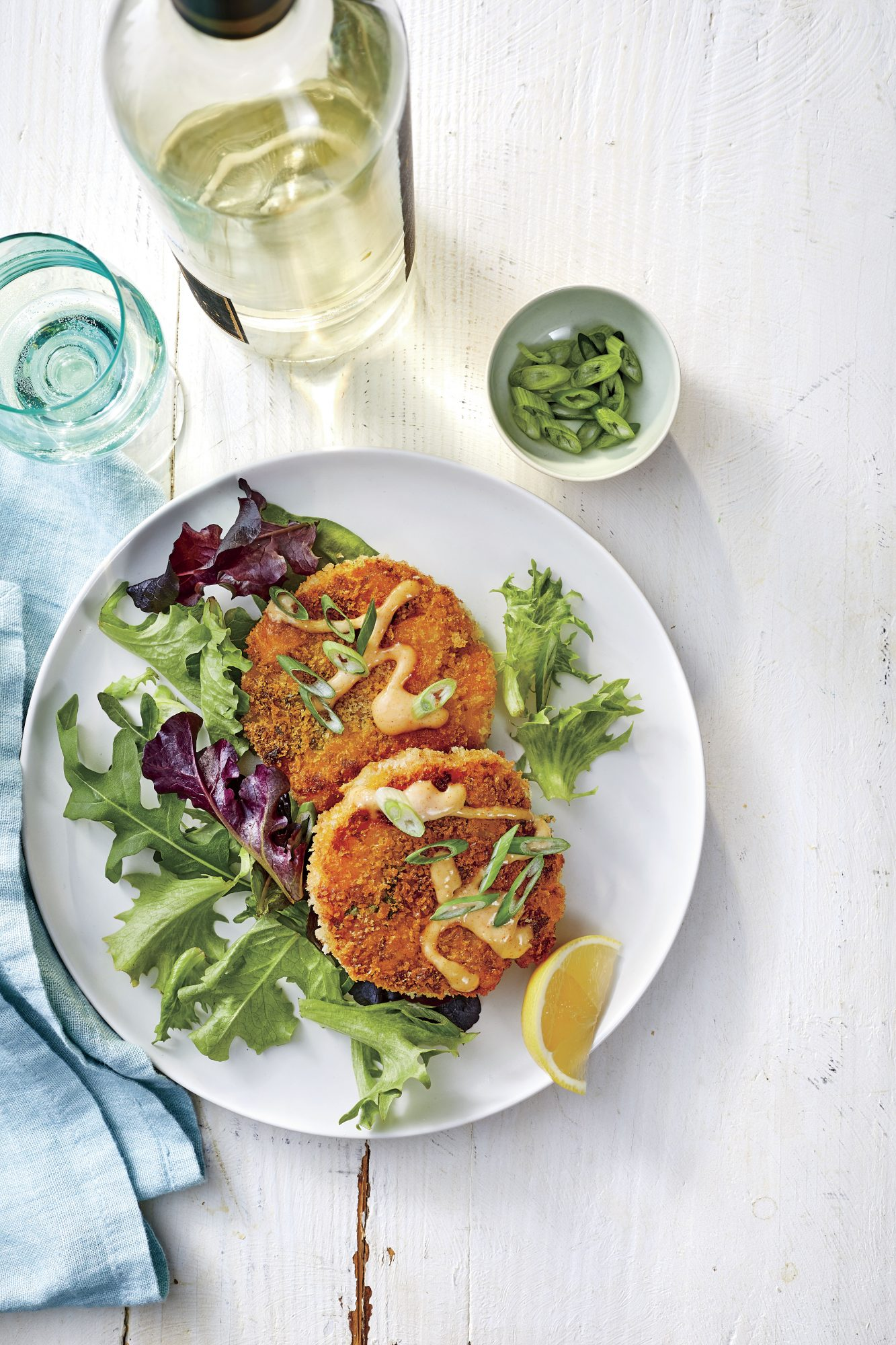 Shrimp Cakes with Smoky Horseradish Sauce