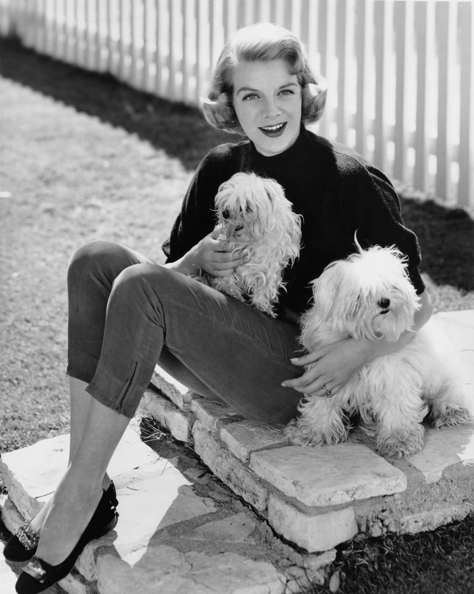 Rosemary Clooney with Dogs