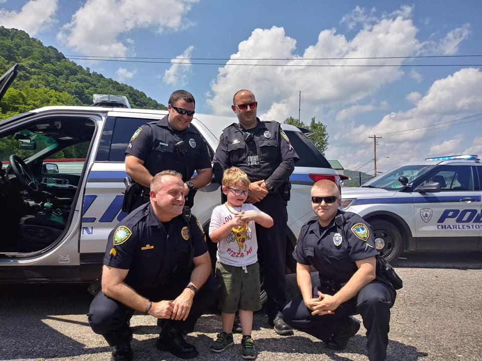 Charleston WV Police Birthday