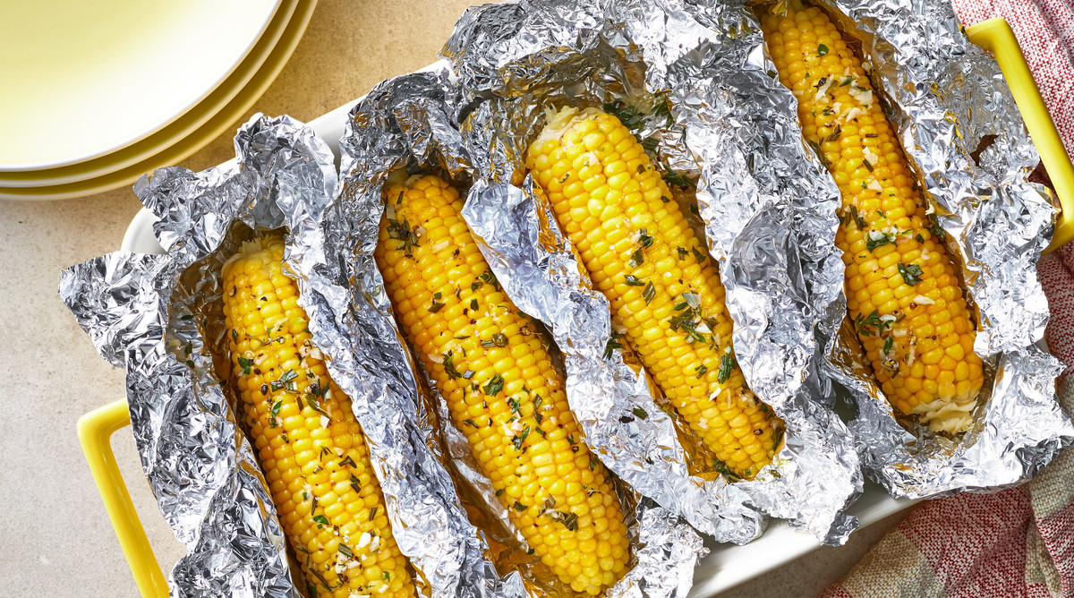 Corn on the Cob in Foil