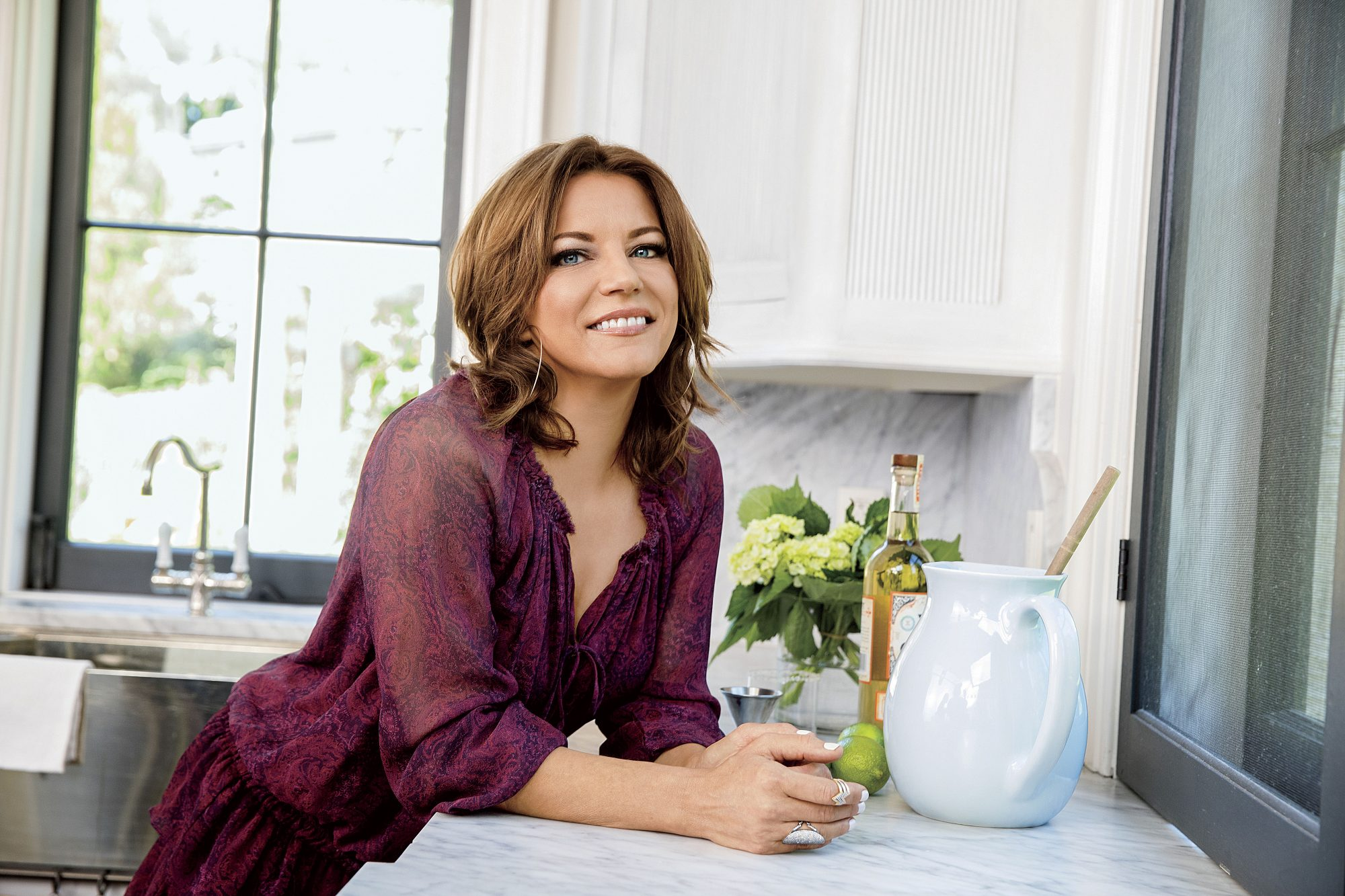 Martina McBride in Kitchen