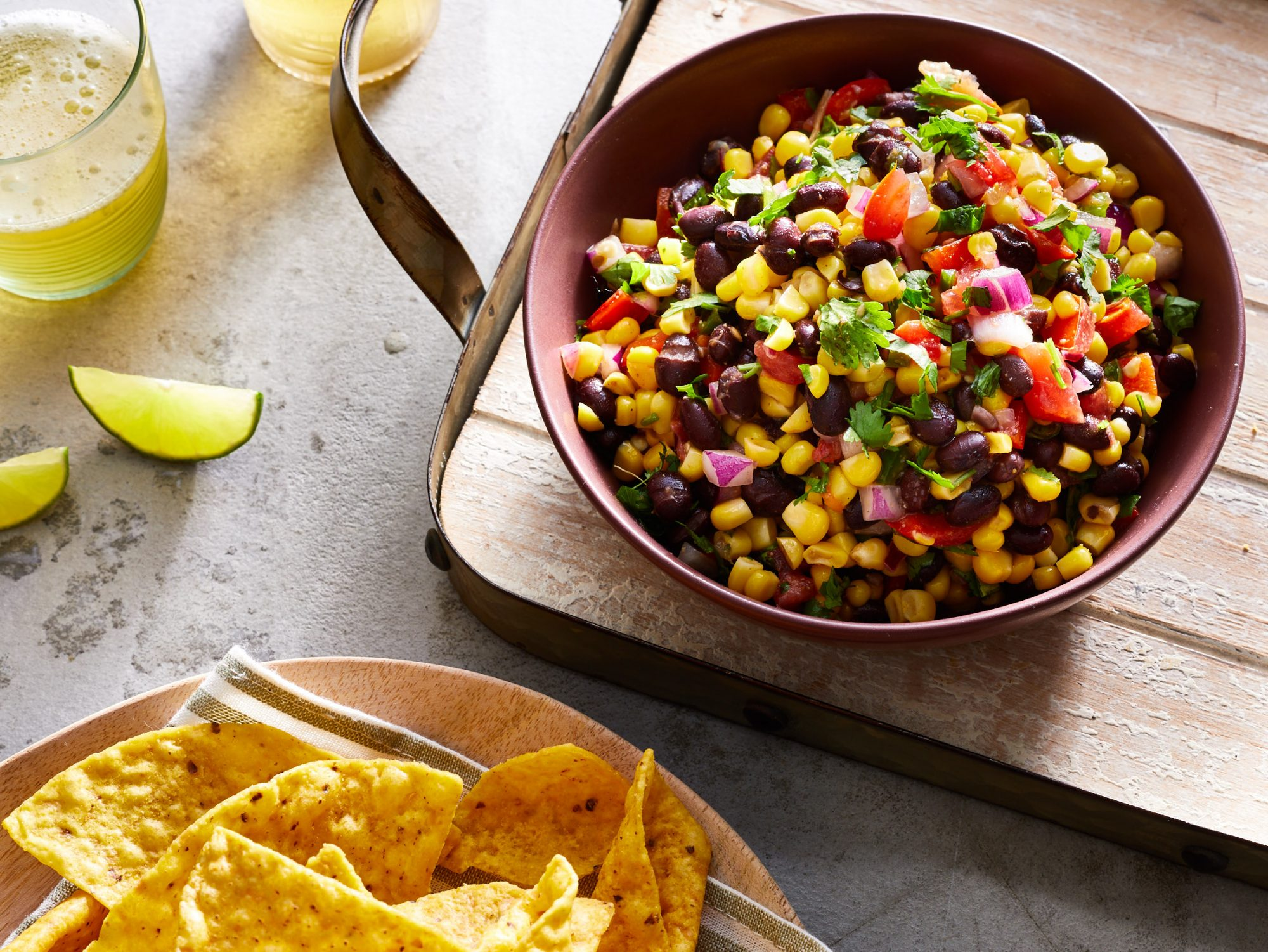 Back Bean Corn Salsa