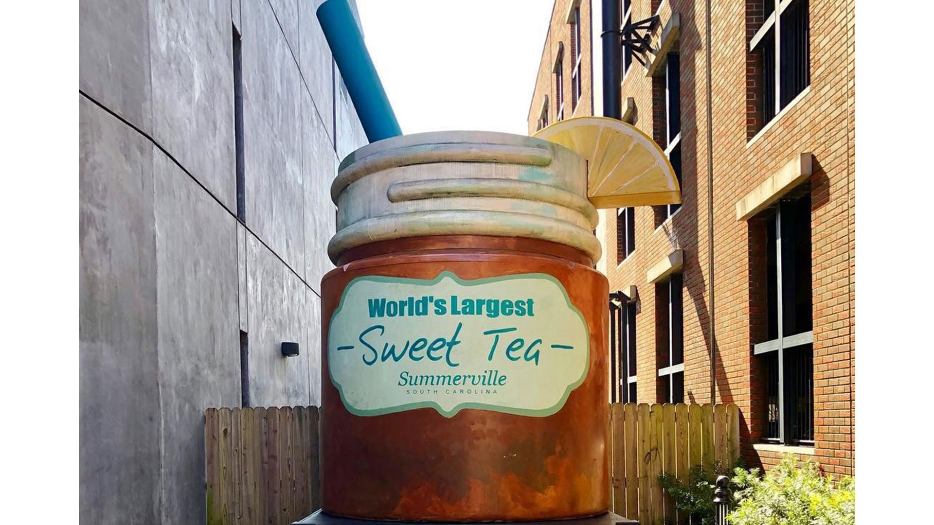 Largest Sweet Tea Summerville SC