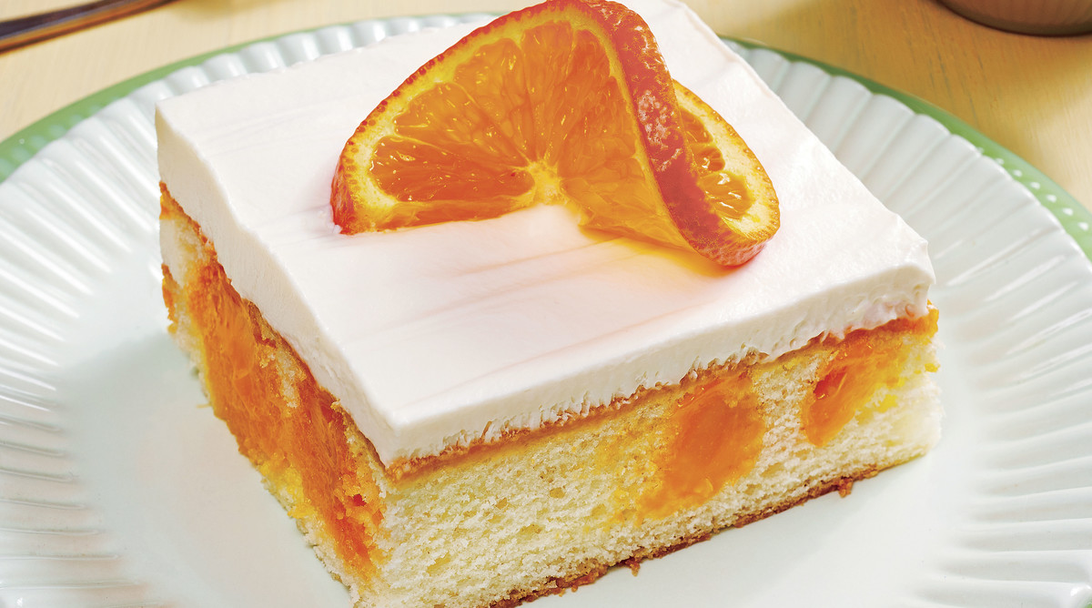 Nehi Orange Poke Cake