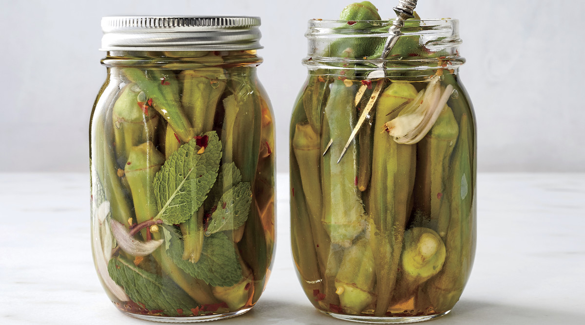 Zesty Pickled Okra