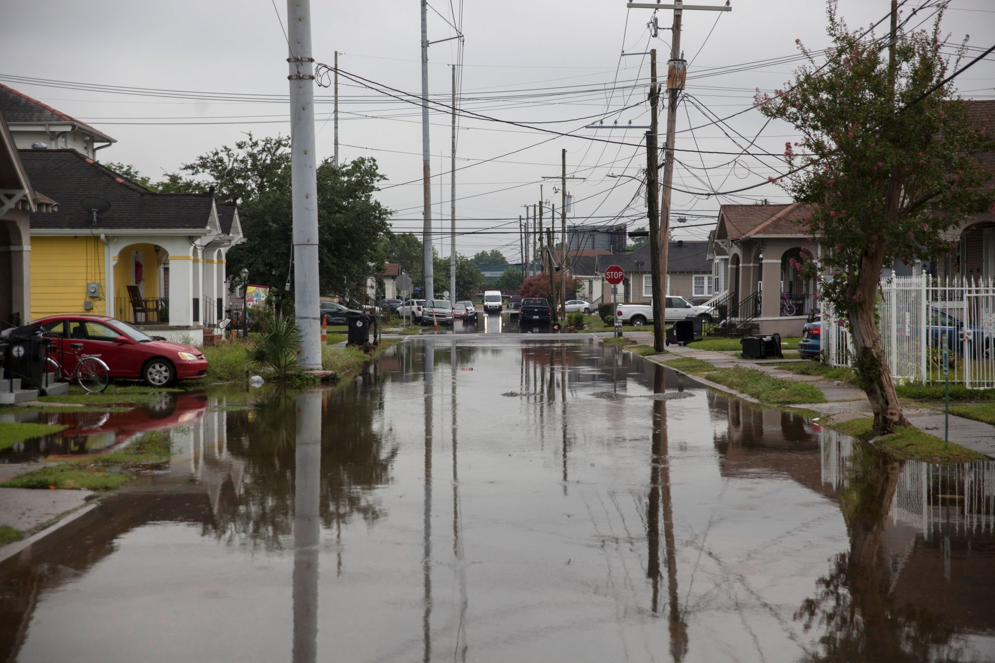 New Orleans Flooded