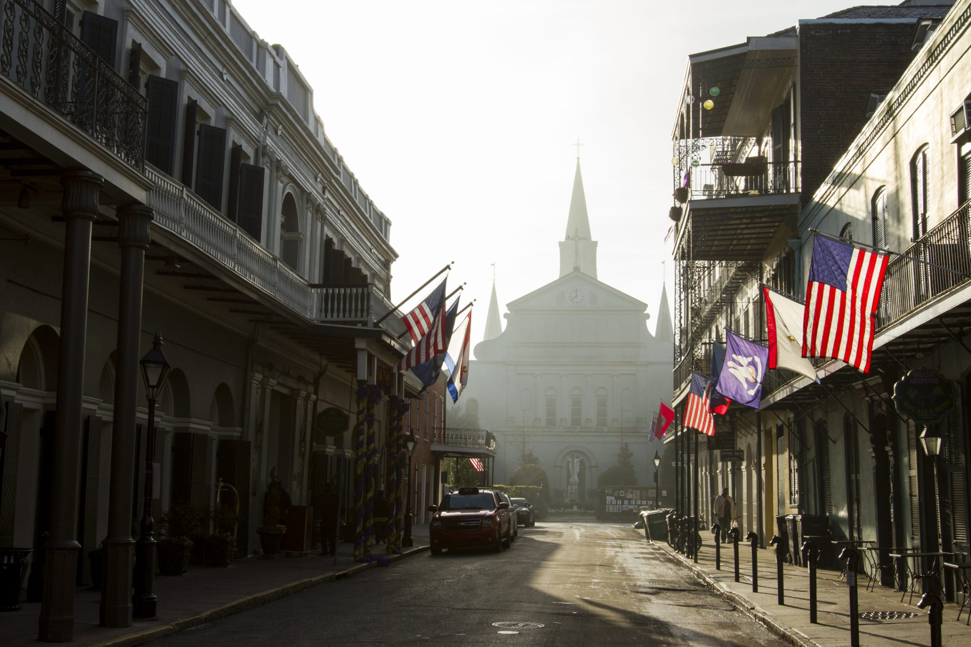 Muggy Day in New Orleans
