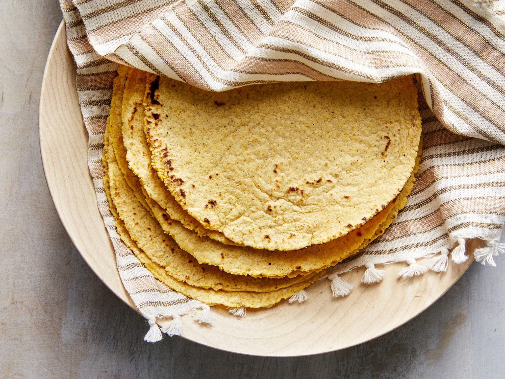 Homemade Corn Tortilla