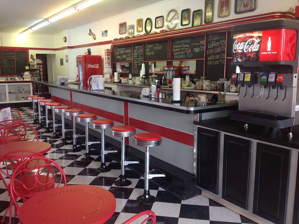 Paynes Soda Fountain Interior