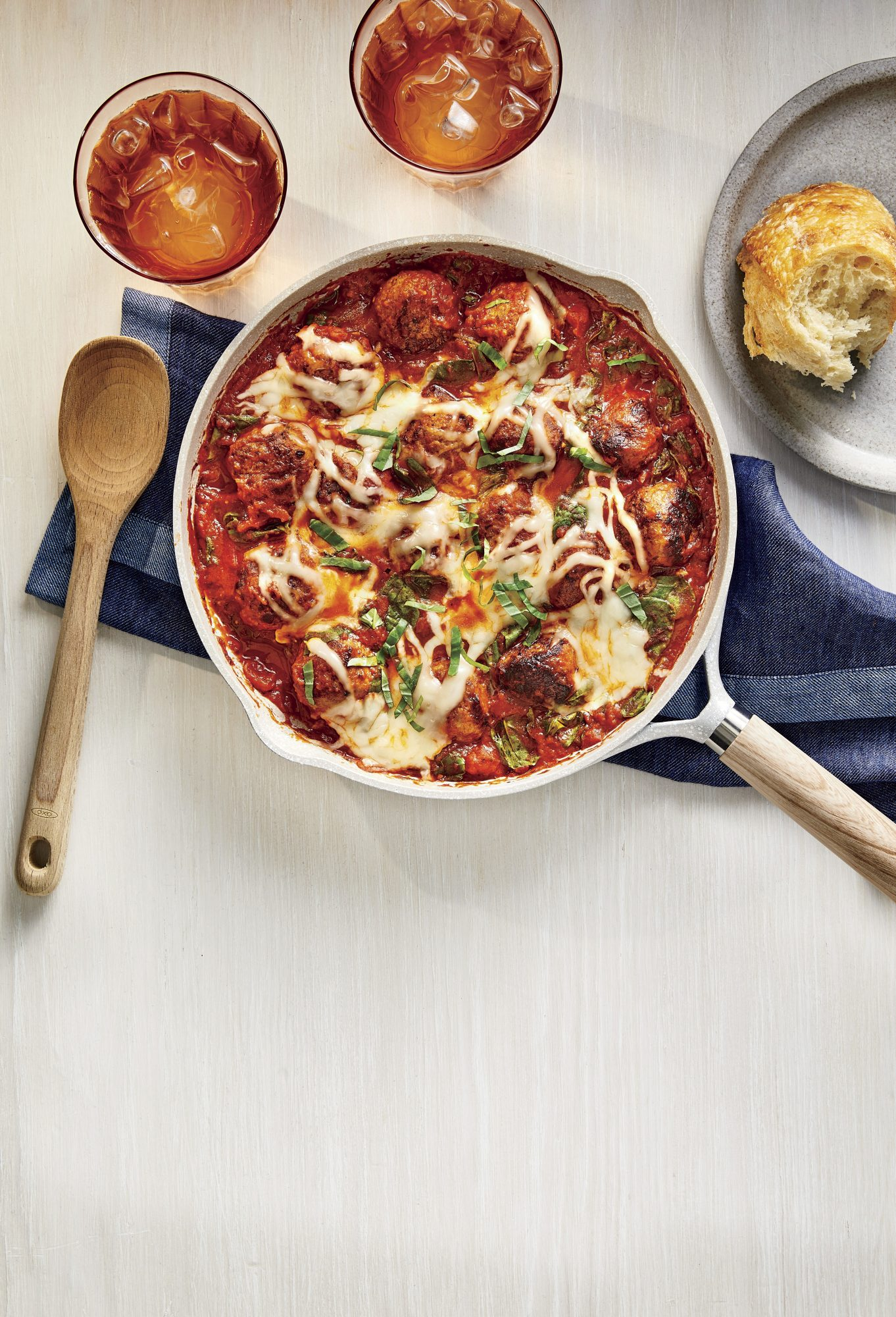 Skillet Turkey Meatballs