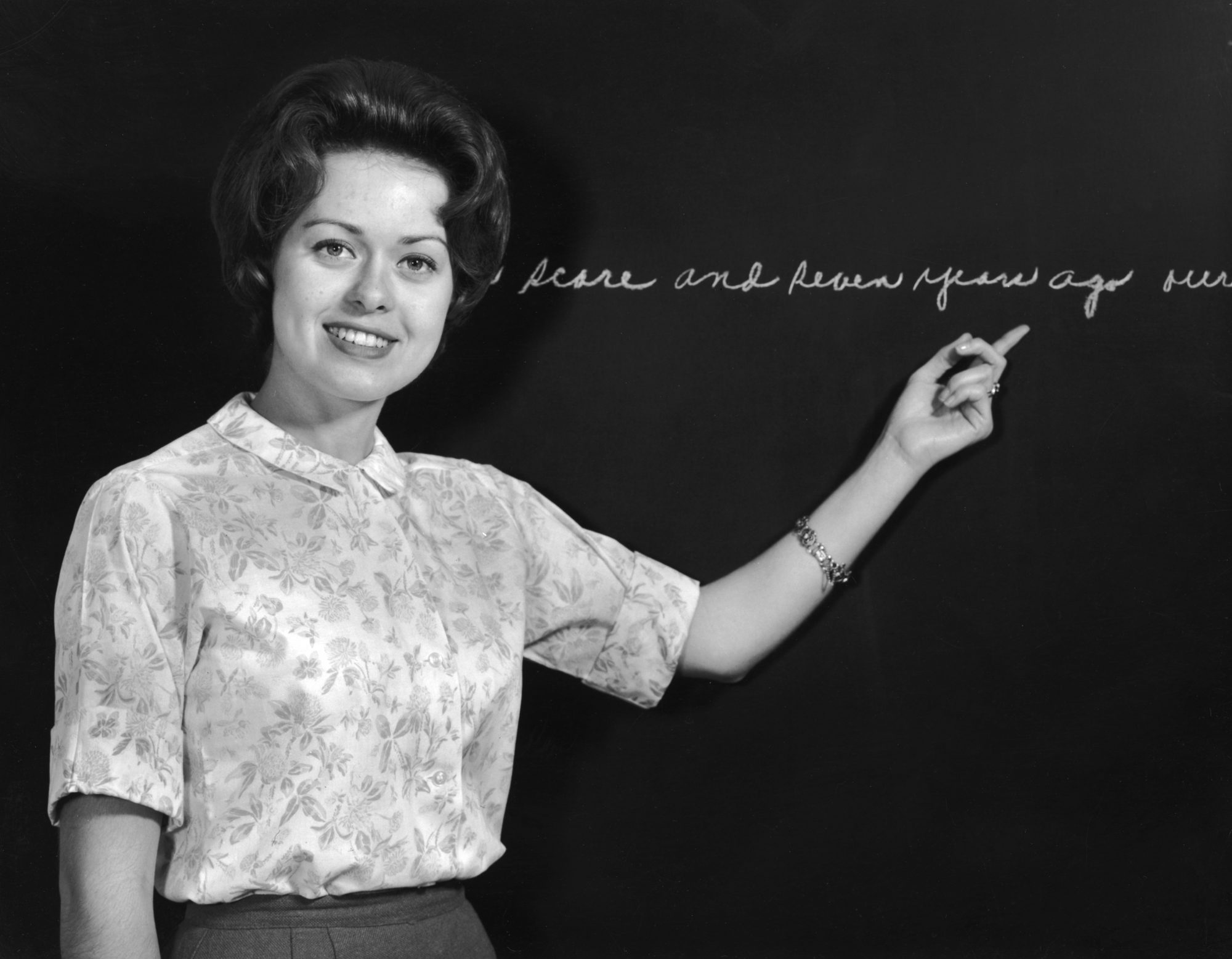 teacher chalkboard