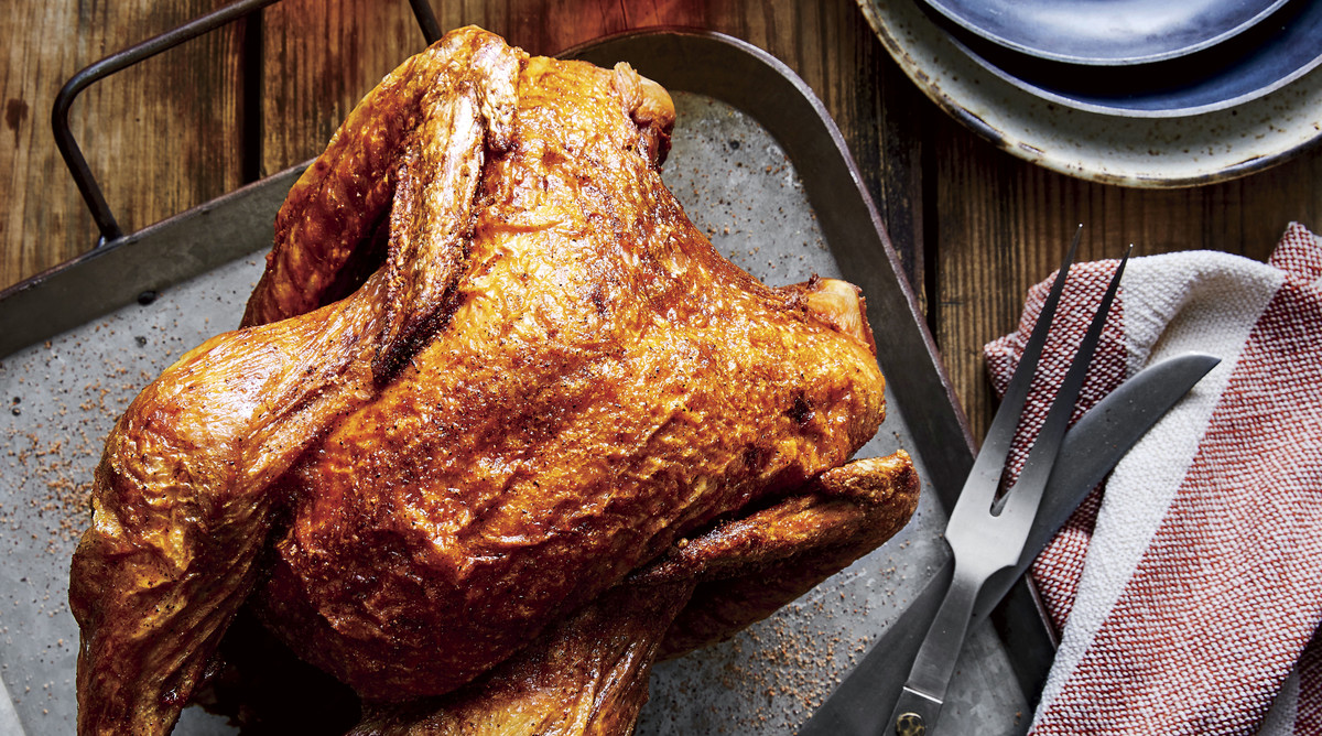 Deep Fried Turkey with Creole Spices