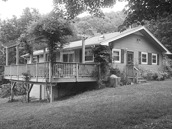 Tod Childress Fishing Cabin Before in Shenandoah Valley, VA