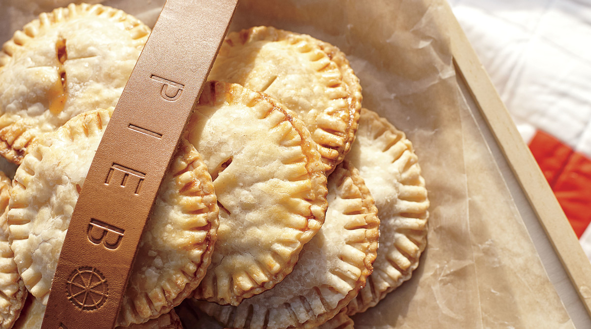 Salted Caramel-Apple Hand Pies
