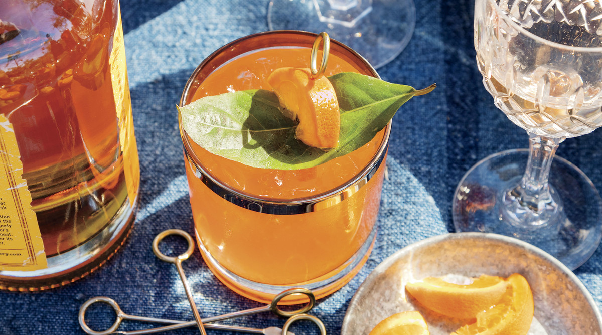 Clementine Whiskey Sour