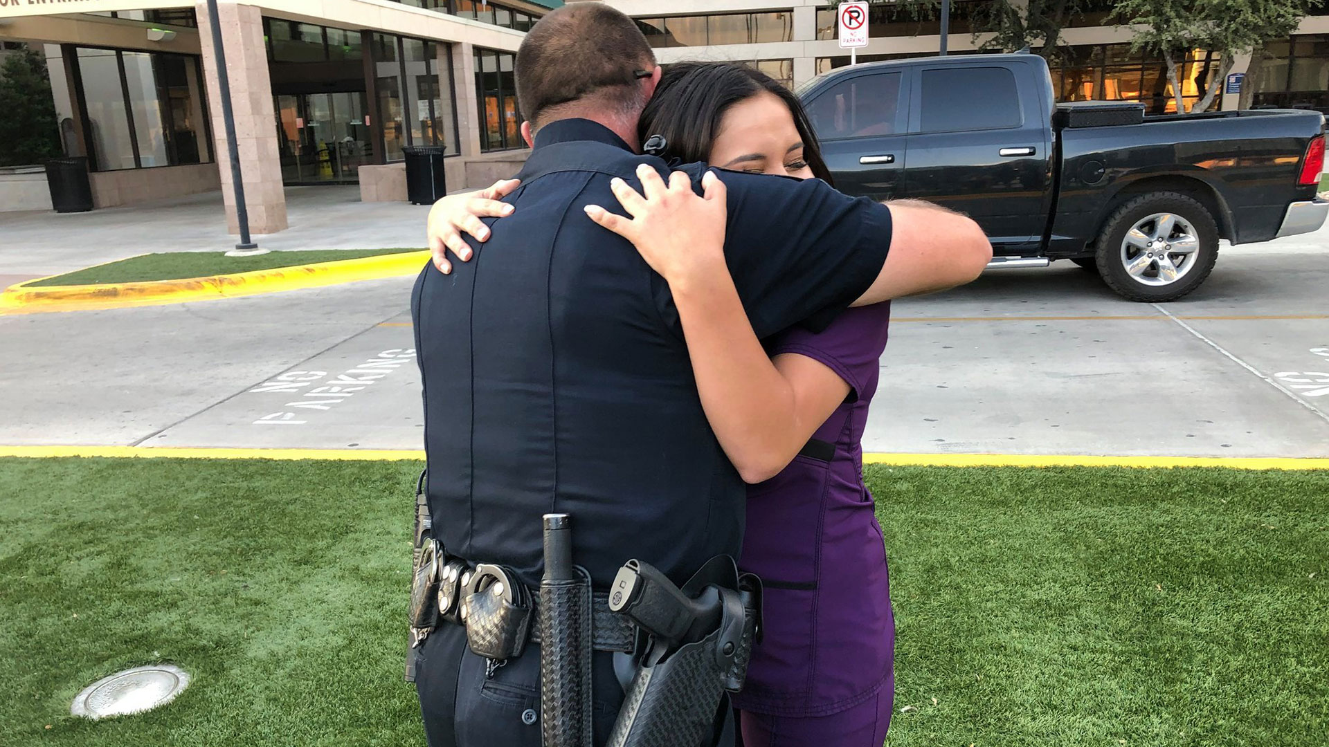 Odessa Police Thank You Note Meeting