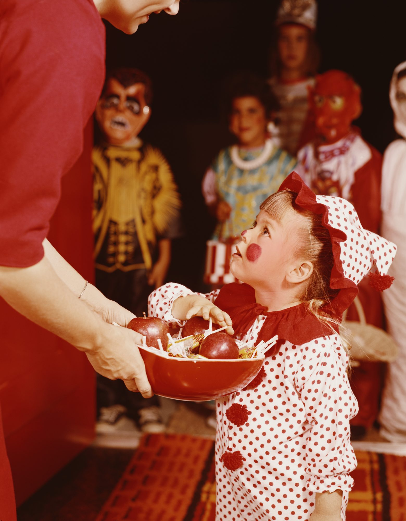Vintage Halloween Trick or Treating