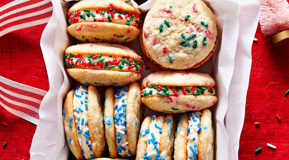 Nut-Free Sprinkle Sandwich Cookies