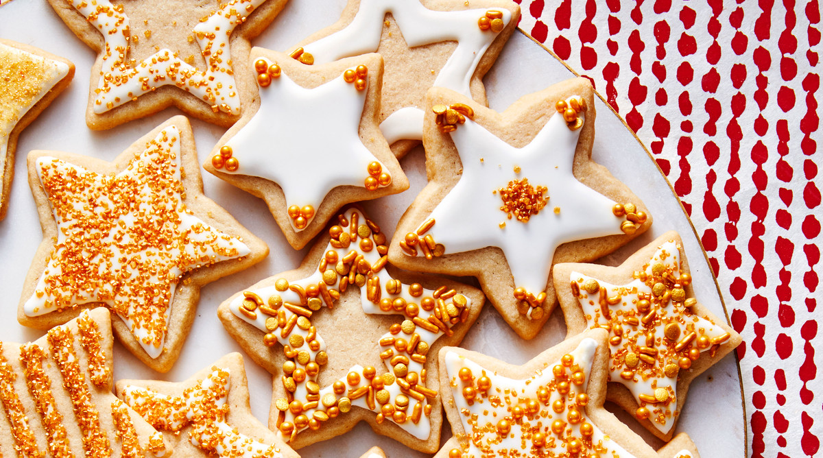 Brown Sugar Cookie Stars
