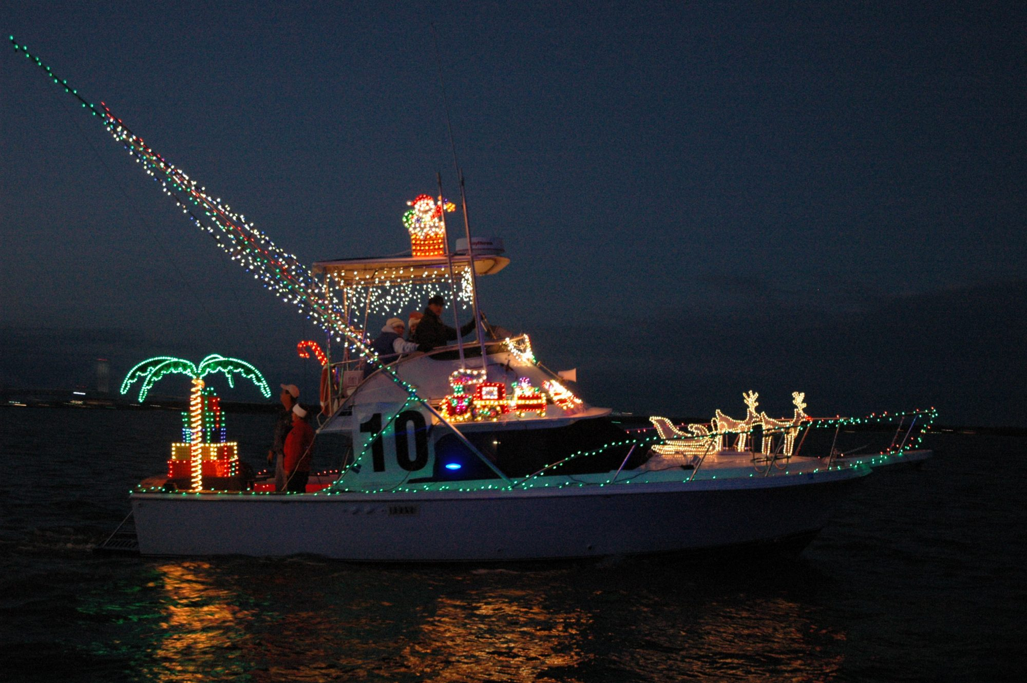 Charleston Holiday Boat Parade