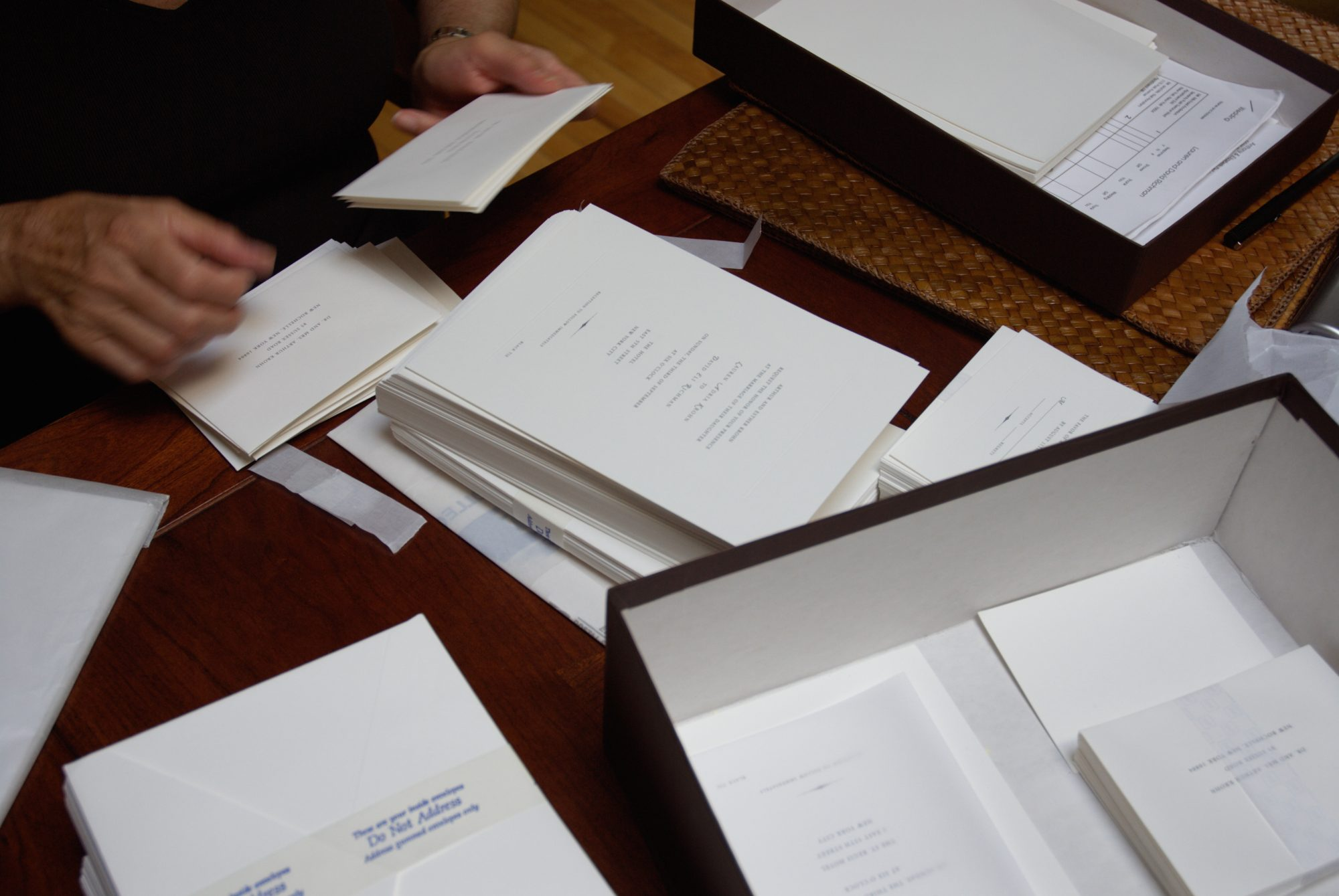 When You Put Your Return Address On the Back of Wedding Invitations, You Run The Risk of Receiving Them Back