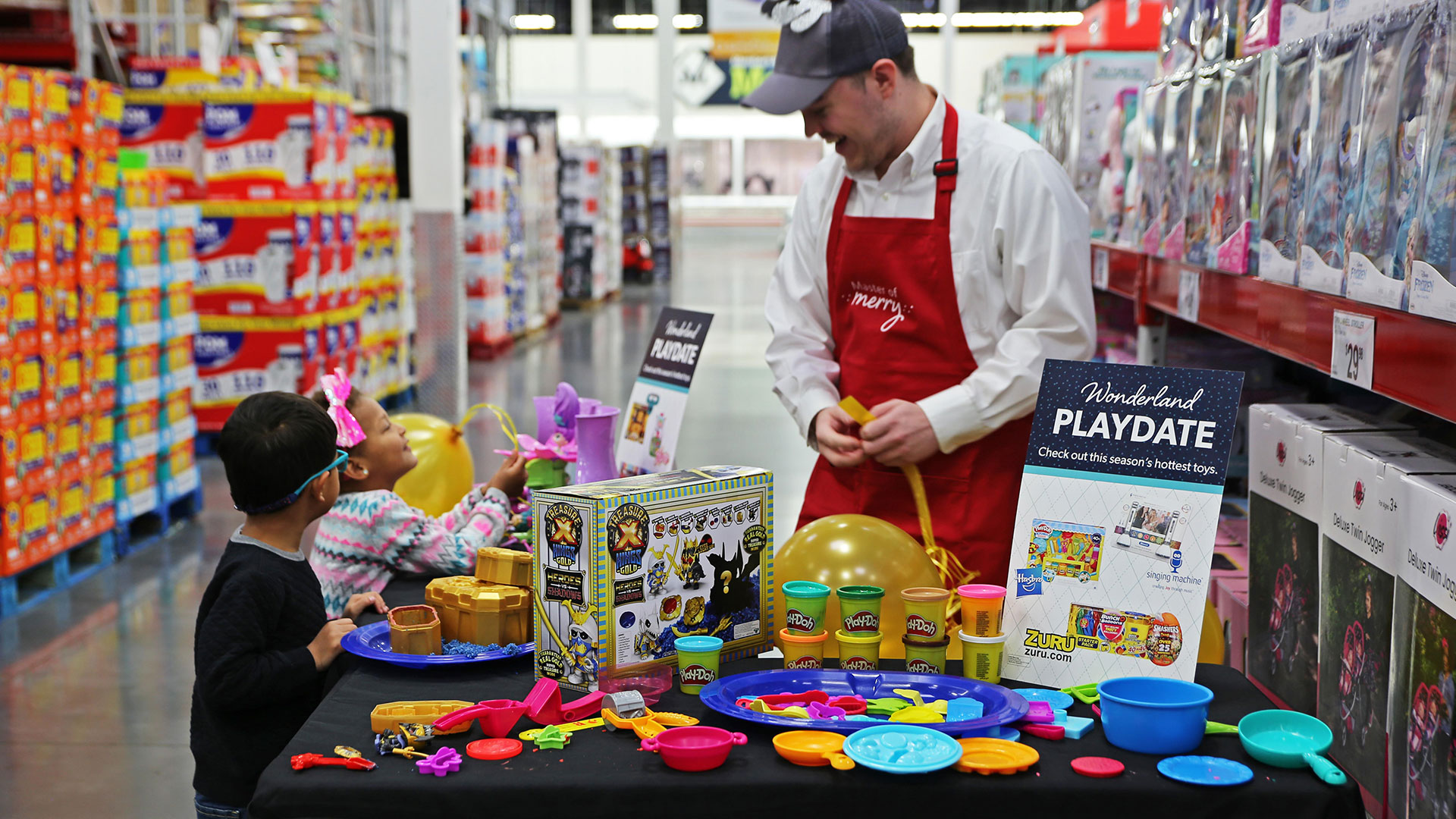 Sam's Club Wonderland Playdate