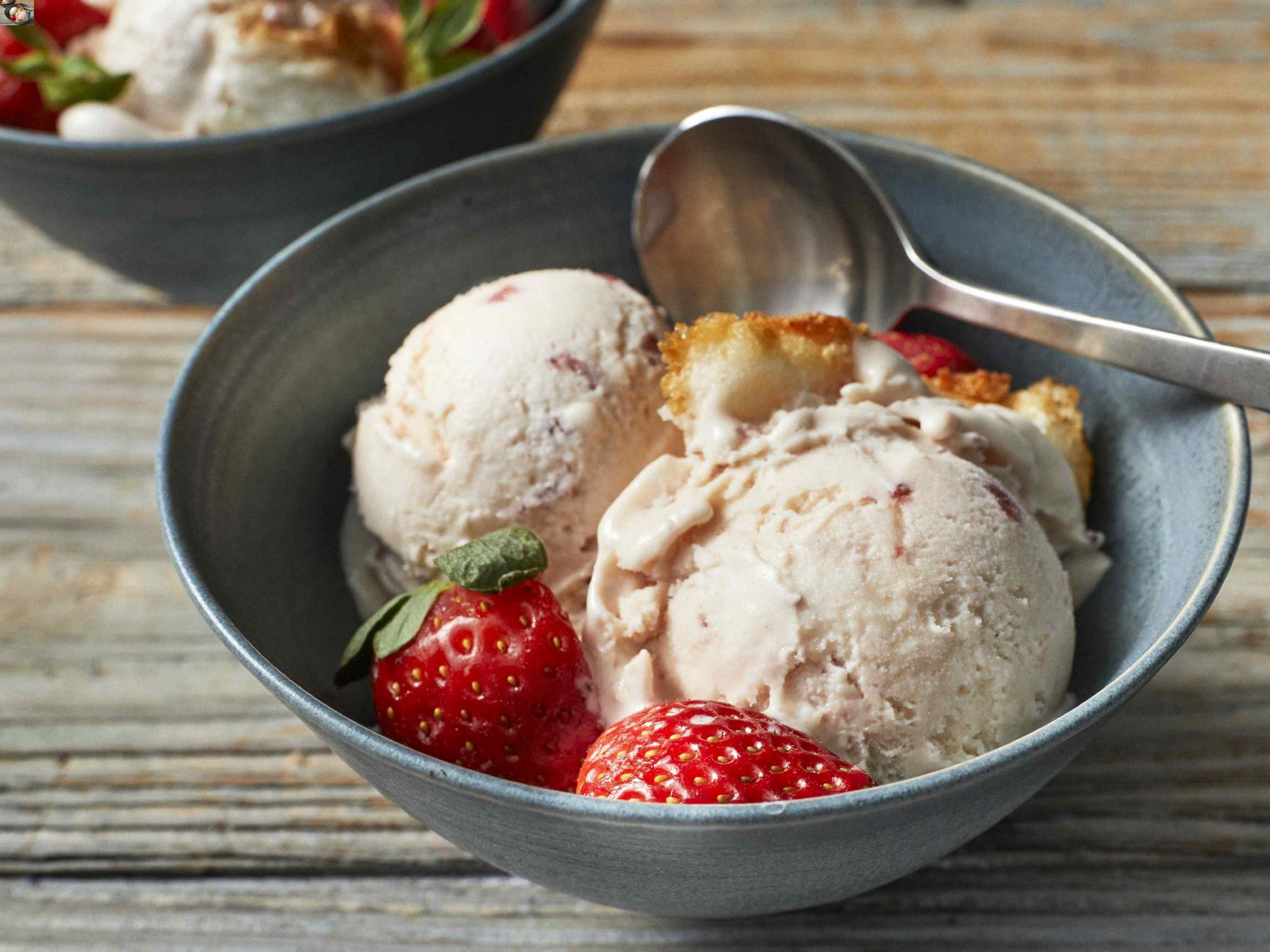Strawberry Shortcake Ice Cream