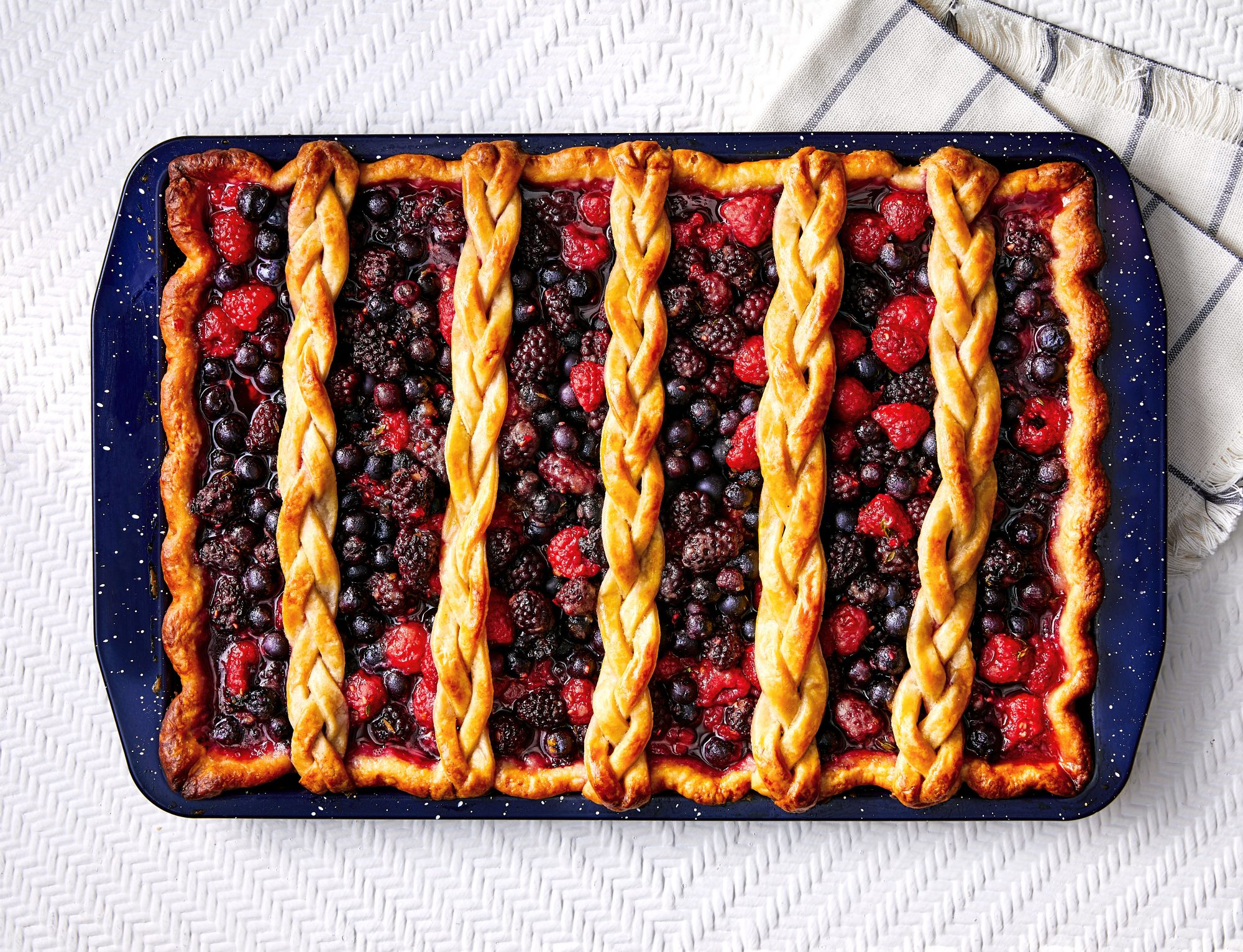 Mixed Berry Slab Piet