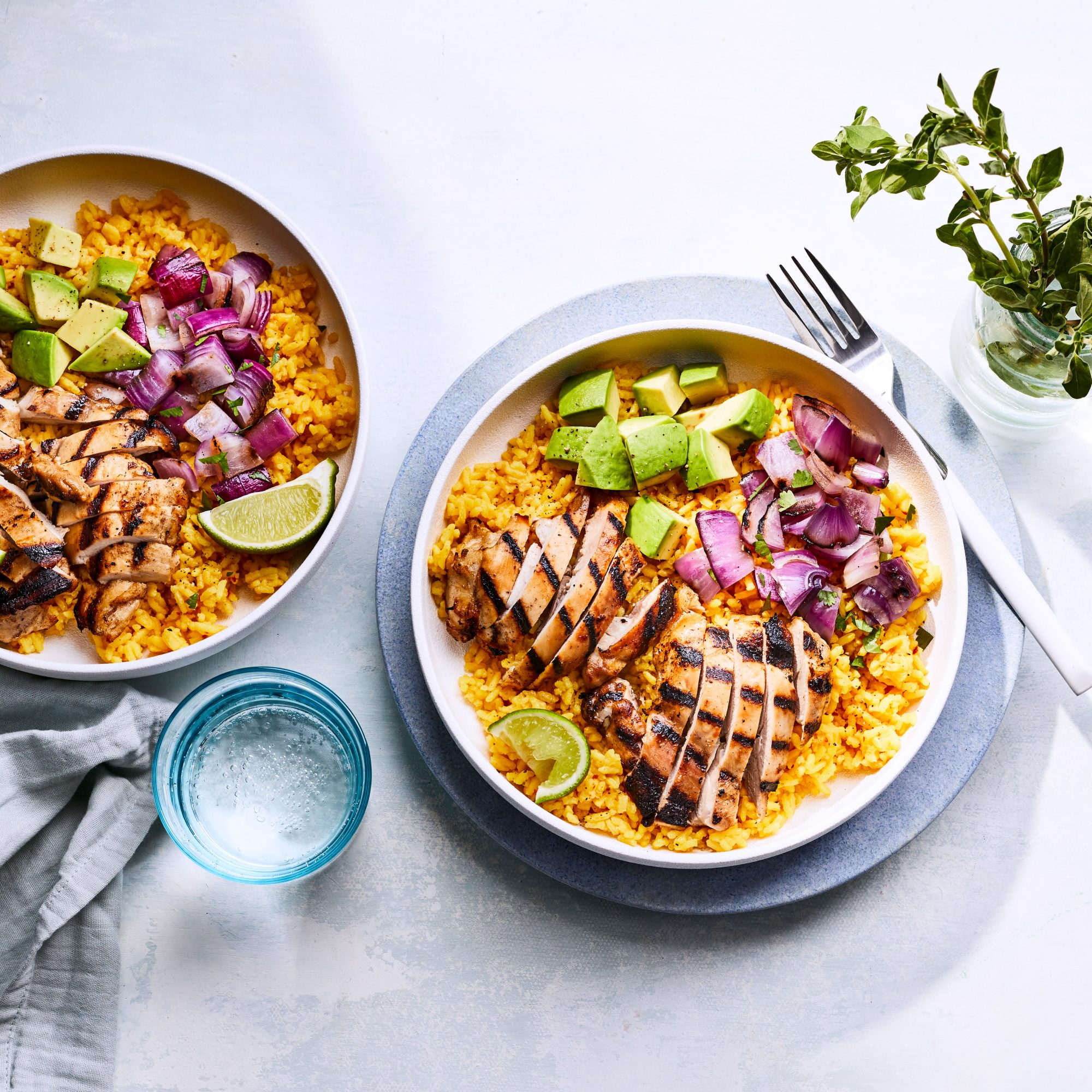 Mojo Chicken Bowls
