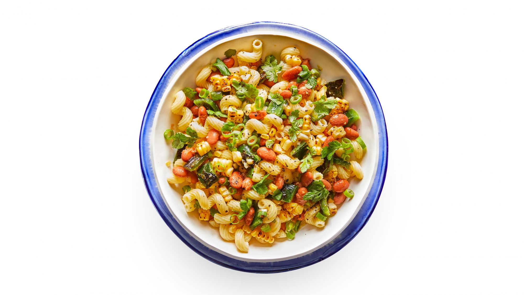 Pintos and Peppers Pasta Salad