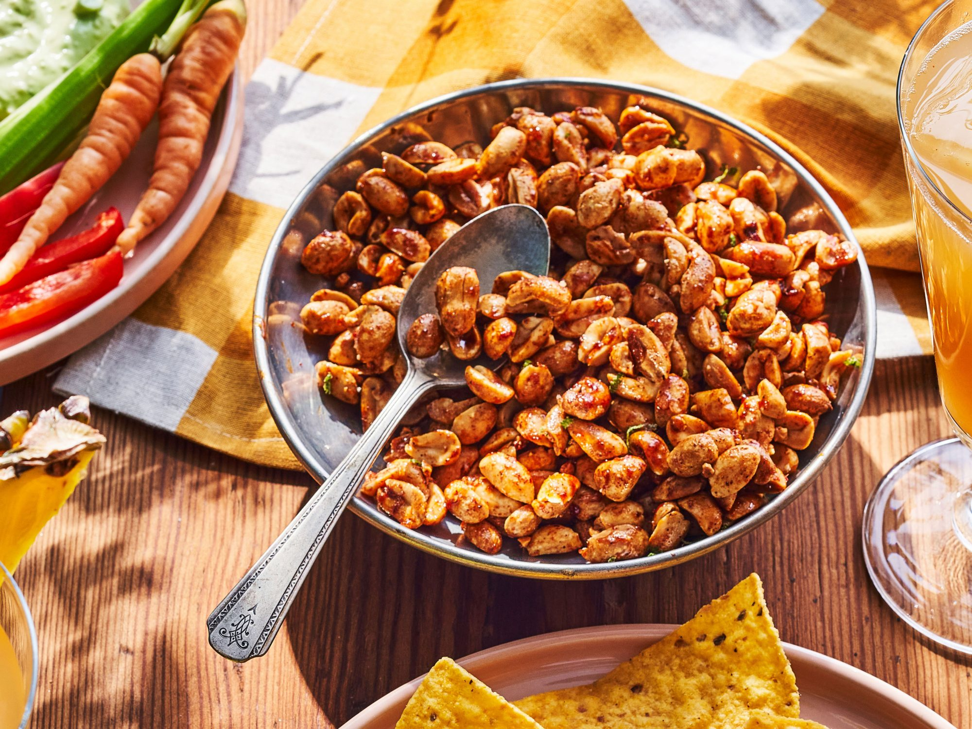 Chile-Lime-Honey Roasted Peanuts